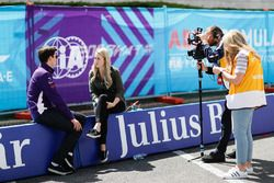 Alex Lynn, DS Virgin Racing, parle à la presse