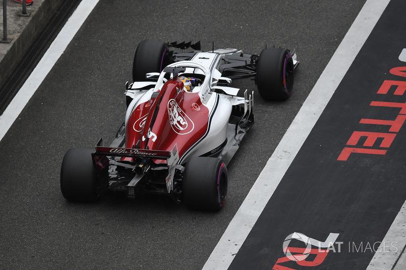 20. Маркус Эрикссон, Alfa Romeo Sauber C37