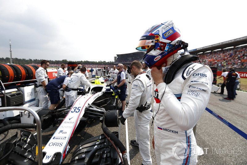 Sergey Sirotkin, Williams