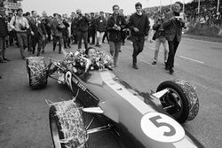 Ganador de la carrera Jim Clark, Team Lotus 49