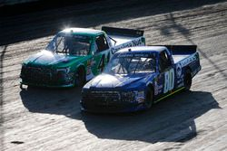 Justin Shipley, Jacob Wallace Racing, Ford F-150 Roger's and Ben Rhodes, ThorSport Racing, Ford F-150 Alpha Energy Solutions