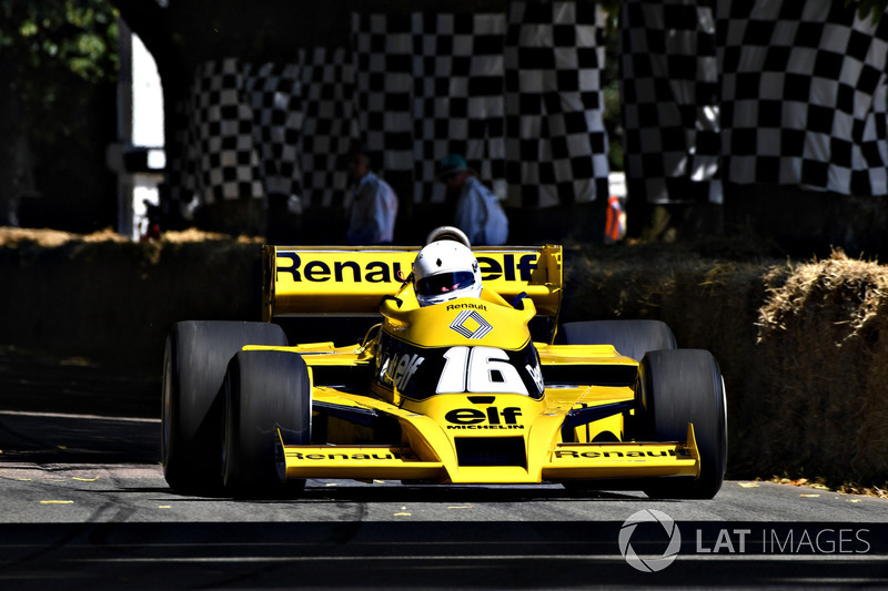 La Renault RS01 de René Arnoux