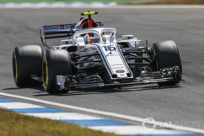 8. Charles Leclerc, Sauber C37