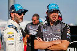 Jimmie Johnson, Hendrick Motorsports, Chevrolet Camaro Lowe's / Jimmie Johnson Foundation and crew chief Chad Knaus