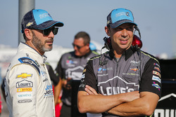 Jimmie Johnson, Hendrick Motorsports, Chevrolet Camaro Lowe's / Jimmie Johnson Foundation and crew chief Chad Knaus