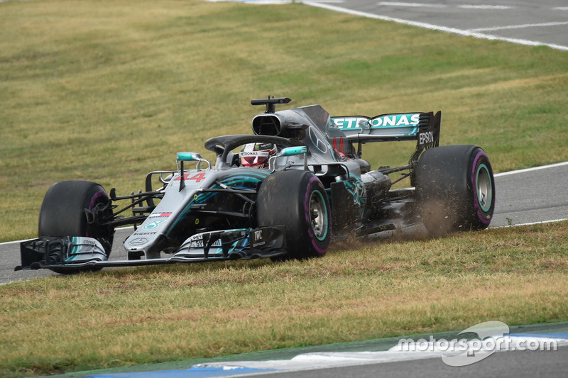 Hamilton pitstop confusion in full