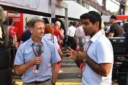 Ben Edwards, Channel 4 F1 en Karun Chandhok, Channel 4 F1