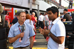 Ben Edwards, Channel 4 F1 et Karun Chandhok, Channel 4 F1