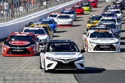 Christopher Bell, Joe Gibbs Racing, Toyota Camry Rheem, pace car
