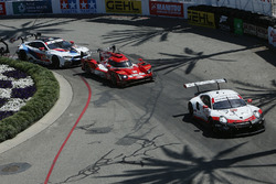 #911 Porsche Team North America Porsche 911 RSR, GTLM: Patrick Pilet, Nick Tandy, #31 Action Express Racing Cadillac DPi, P: Eric Curran, Felipe Nasr, #24 BMW Team RLL BMW M8, GTLM: John Edwards, Jesse Krohn