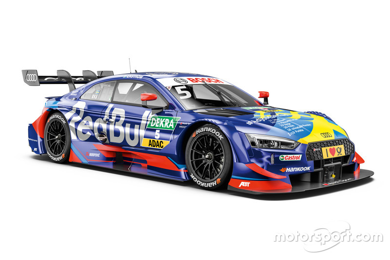 #5 Mattias Ekström, Audi RS 5 DTM (SOLO CORRERÁ EN HOCKENHEIM)