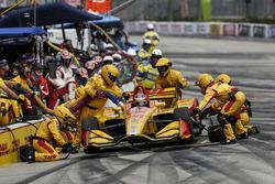 Ryan Hunter-Reay, Andretti Autosport Honda, pitstop