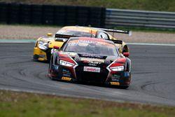 #3 Aust Motorsport Audi R8 LMS: Nikolaj Rogivue, Frédéric Vervisch