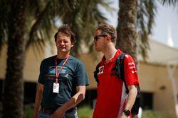 Sebastian Vettel, Ferrari et Michael Schmidt, journaliste