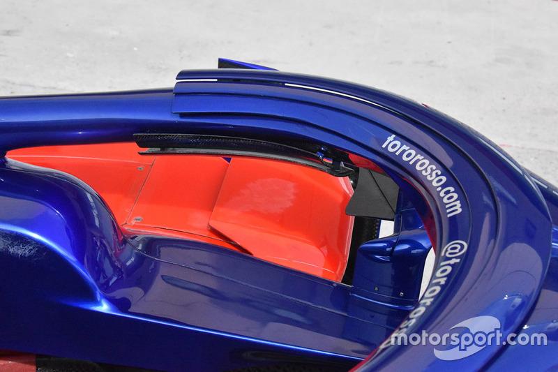 Scuderia Toro Rosso STR13 detalle del halo