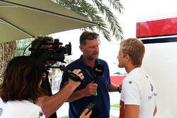 Marcus Ericsson, Sauber con los medios