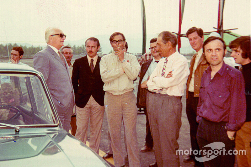 Gian Paolo Dallara e Enzo Ferrari