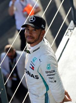 Lewis Hamilton, Mercedes-AMG F1 sur le podium
