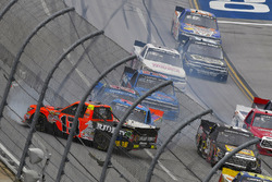 Crash: Cody Coughlin, ThorSport Racing Toyota