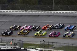 Myatt Snider, Kyle Busch Motorsports Toyota y Christopher Bell, Kyle Busch Motorsports Toyota