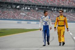 A.J. Allmendinger, JTG Daugherty Racing Chevrolet Landon Cassill, Front Row Motorsports Ford