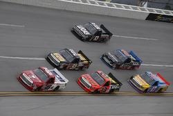 Austin Wayne Self, AM Racing Toyota, Cody Coughlin, ThorSport Racing Toyota, Myatt Snider, Kyle Busc