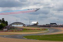 Patrouille de France fly over