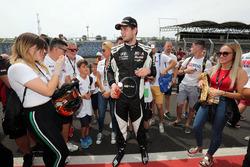 Second place Dániel Nagy, M1RA Hyundai i30 N TCR