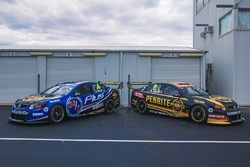 The cars of Aaren Russell and David Reynolds, Erebus Motorsport