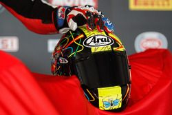 Casco de Karel Abraham, Milwaukee BMW