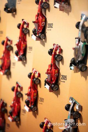 Exposición de Michael Schumacher