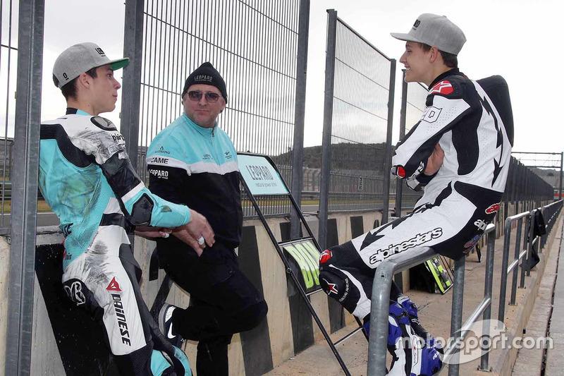 Joan Mir, Leopard Racing y Fabio Quartararo, Leopard Racing