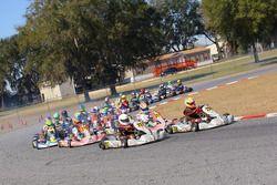 Mathias Ramirez lidera ROK Junior en la pista