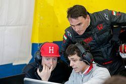 Rob Huff, Norbert Michelisz, Honda Racing Team JAS