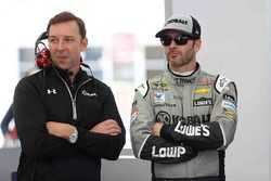 Jimmie Johnson, Hendrick Motorsports Chevrolet and crew chief Chad Knaus