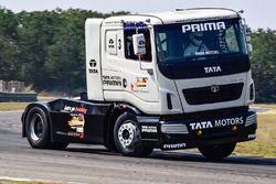 Tata T1 Prima track action