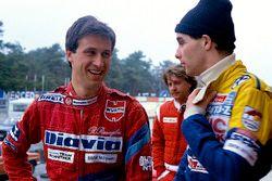 Roberto Ravaglia e Gerhard Berger
