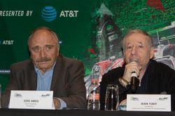 José Abed, Vice presidente FIA Messico e Jean Todt, Presidente FIA