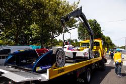 The car of Salvador Duran, Team Aguri
