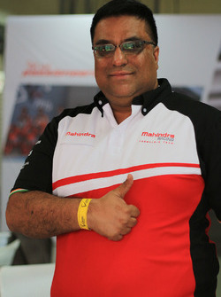 Dilbagh Gill, Teambesitzer von Mahindra Racing