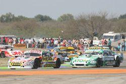 Sergio Alaux, Coiro Dole Racing Chevrolet, Agustin Canapino, Jet Racing Chevrolet, Leonel Pernia, La