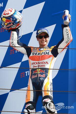 Il vincitore Dani Pedrosa, Repsol Honda Team