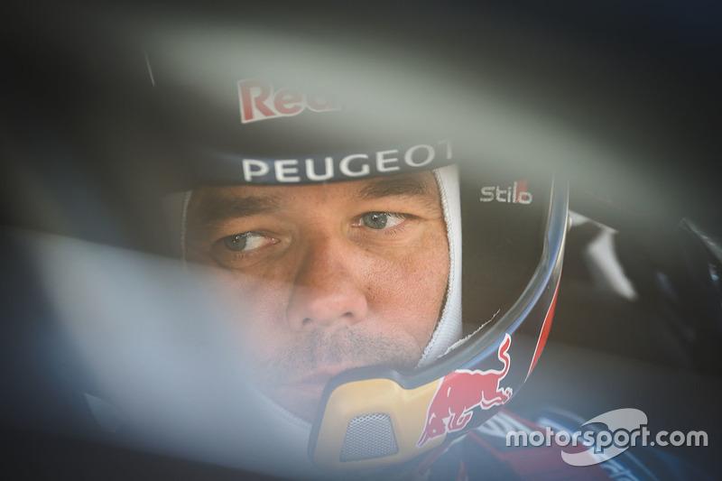 Sébastien Loeb, Team Peugeot Hansen, et Tom Pajes
