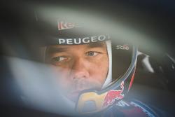 Sébastien Loeb, Team Peugeot Hansen and Tom Pajes