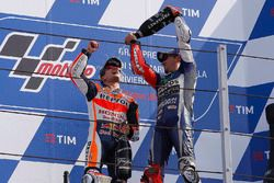 Yarış galibi Dani Pedrosa, Repsol Honda Team, 3. Jorge Lorenzo, Yamaha Factory Racing