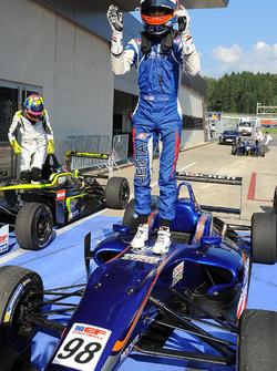 Race winner Colton Herta, Carlin Motorsport