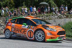 Simone Campedelli e Danilo Fappani, Ford Fiesta R5, Orange1 Racing