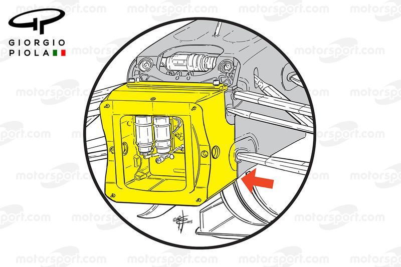 الهيكل الأمامي لسيارة مانور إم.آر03بي