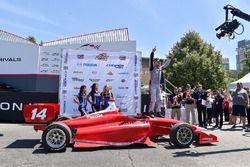 Yarış galibi Felix Rosenqvist, Belardi Auto Racing