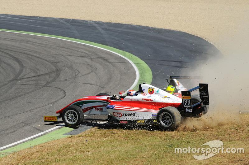 Zwischenfall um Mick Schumacher, Prema Powerteam, und Juan Manuel Correa, Prema Powerteam